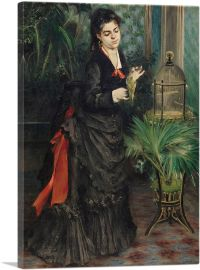 Woman With Parakeet 1871