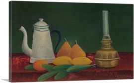 Still-Life With Teapot and Fruit 1910
