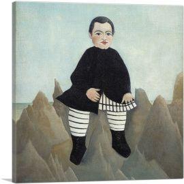 Boy On The Rocks 1897