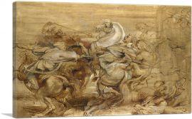 Sketch for the Lion Hunt 1615
