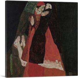 Cardinal and Nun - Caress 1912