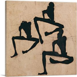 Composition with Three Male Nudes 1910