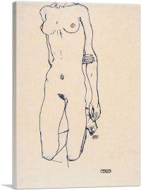 Torso of a Kneeling Girl 1913