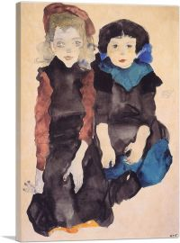 Two Little Girls 1911