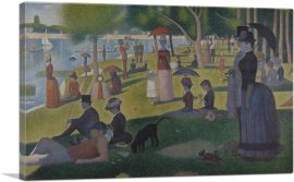 A Sunday Afternoon on the Island of La Grande Jatte 1884