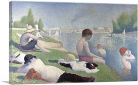 Bathers at Asnieres 1884