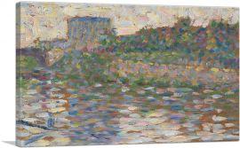 The Seine at Courbevoie 1884