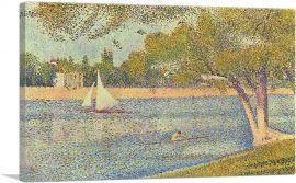The Seine at La Grande Jatte 1888