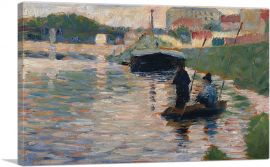 View of the Seine 1883