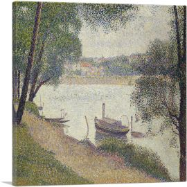 Gray Weather -  Grande Jatte 1888