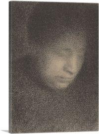 Madame Seurat -  the Artist's Mother 1883