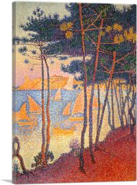 Sails and Pines 1896