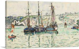 Three Sail Boats