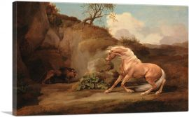 Horse Frightened by a Lion 1768