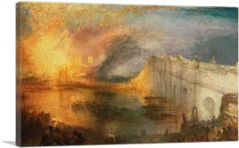 Burning of the Houses of Lords and Commons 1834