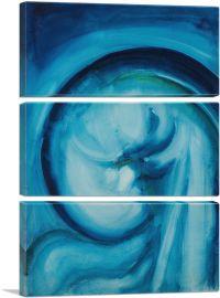 Blue II 1916-3-Panels-90x60x1.5 Thick